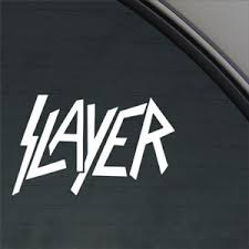 Slayer Decal Metal Band Car Truck Window Buy Online In Bahamas At Desertcart