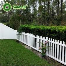 China 4 Ft Scalloped Vinyl Picket Fence Vegetable Garden China White Vinyl Picket Fence White Vinyl Picket Fencing