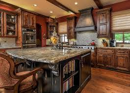 improbable cabin kitchen cabinets