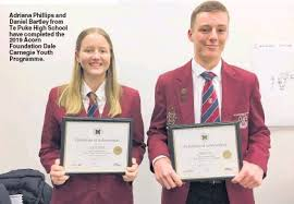 PressReader - Te Puke Times: 2019-07-18 - Duo thrive on youth course