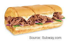 best subway sandwich you can fast