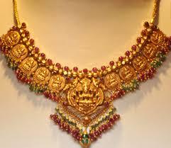 gold necklace antique short necklace