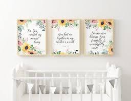 printable baby girl nursery set