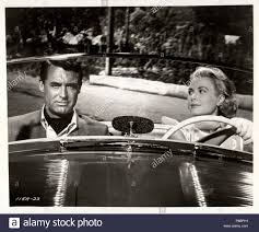 Grace Kelly and Cary Grant in film To Catch a Thief by Alfred Hitchcock.  Museum: PRIVATE COLLECTION Stock Photo - Alamy