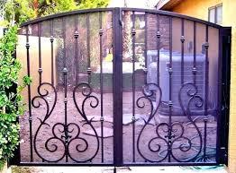 used wrought iron gates babybites org