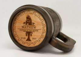 end beer mug father of groom gift