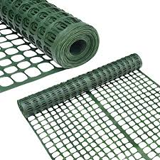 Abba Patio Snow Fencing Lightweight Safety Netting Recyclable Plastic Barrier Environmental Protection Dark Green 2 X 25 Feet Amazon Ca Patio Lawn Garden