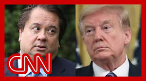 Trump rants against George Conway after new ad airs - YouTube