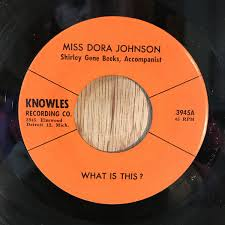 Miss Dora Johnson - What Is This? / In The Shelta Of The Rock (Vinyl) |  Discogs