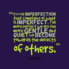 joseph addison quote about perfect