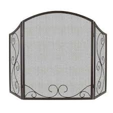 cottage fireplace screens
