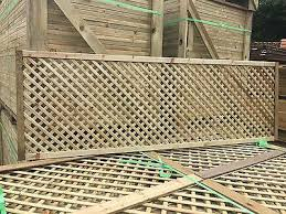 6x2 Elite Privacy Alderley Diamond Trellis 183x60 Garden Lattice Fence Topper Ebay