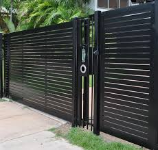 Wrought Iron Cool Fences For Modern House Givdo Home Ideas The Security Of Cool Fences For Modern House