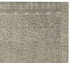 luna tonal tufted wool rug pottery barn