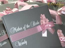 gray custom bridesmaids gift bag