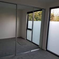 mirror wardrobe sliding doors rocbilt