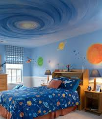 Space Themed Interior Design Ideas That Bring The Stars Into Your Home Outer Space Bedroom Space Themed Bedroom Bedroom Themes