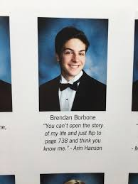 my senior quote in my high school yearbook gamegrumps