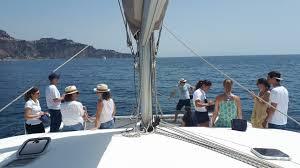 Settimana alle Isole Eolie in catamarano 50 piedi