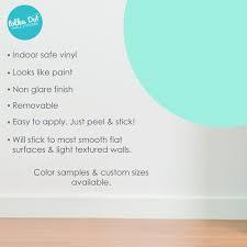 Mint Polka Dot Wall Decals Peel And Stick Polka Dot Wall Stickers