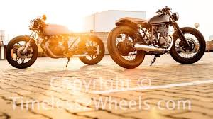cost to build a cafe racer