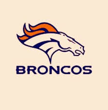 Denver Broncos Logo Vinyl Digital Cut Car Decal Sticker 5 1 2 Inch X 3 3 4 Inch Ebay