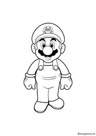 Super Mario Bros Kleurplaat 94533 Kleurplaat Kleurrijke