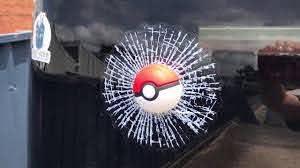 Pokemon Go 3d Car Window Crack Decal Fun Sticker Decoration Youtube