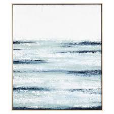wall art blue ocean framed painting