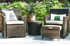 small grey rattan garden furniture