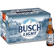 busch light beer 24 pack 12 fl oz