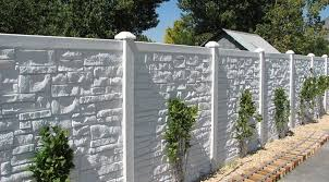 Decorative Concrete Fence 48 Photos Sectional Fence Of Reinforced Concrete Panels Features Of Concrete Fences And Concrete Products