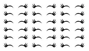 Amazon Com 100 Unicorn Eyelash Stickers Nursery Wall Decor Lashes Decal Eyelash Invitation Seals Makeup Stickers Princess Birthday Cup Sticker Handmade