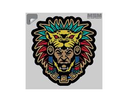 Aztec Warrior Head 1 Decal Mil Spec Monkey Store