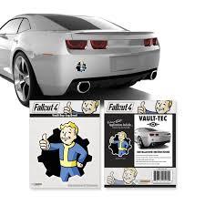 Fallout Vault Boy Cog Vinyl Decal Walmart Com Walmart Com