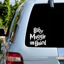 Funny Baby On Board Car Sticker For Car Rear Windshield Decal Sticker Vinly Decal Window Decoration Assessoires Leather Bag