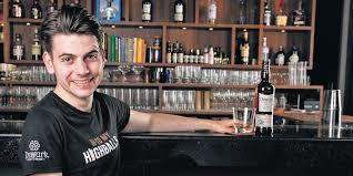 International Scotch Day with Greg Benson, mixologist and Dewar's ...