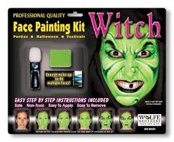 witch makeup plete set for