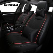 pu leather car seat cover for ford