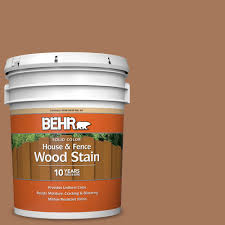 Behr 5 Gal Sc 146 Cedar Solid Color House And Fence Exterior Wood Stain 03005 The Home Depot
