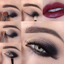how to apply evening makeup step by