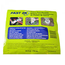 Fast 2k Fence Post Backfill For Sale Vinyl Fence Wholesaler