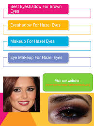 ppt makeup for hazel eyes powerpoint