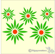 Daisy Car Decals For Cars Made In The Uk From Top Quality Vinyl