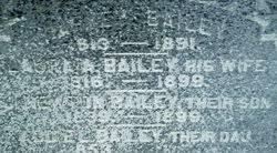 "Adelaide L ""Addie"" Bailey (1849-1921) - Find A Grave Memorial"