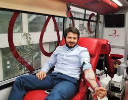 kızılay kan bağışı etkinliğine yoğun ilgi