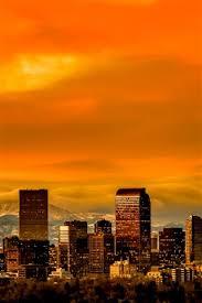 denver colorado usa skyline