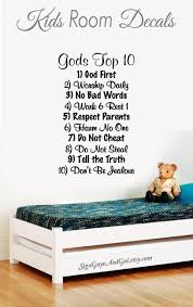 Wall Decal For Child Room Sunday School Room Decal Gods Top Etsy Kids Room Kids Room Decals Inspirational Wall Decals