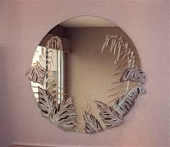 tropical peak decorative mirror with