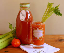 homemade mary mix with canning